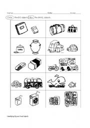 Big and Small Worksheet - ESL worksheet by ninabonita