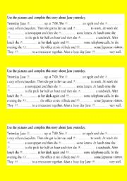 English Worksheets: reading part to solve the jigsaw p.