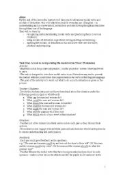 English Worksheet: Modals and Modals of Deduction