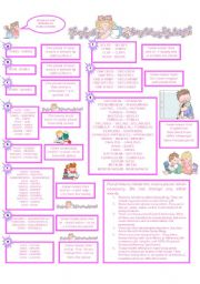 English Worksheets: REGULAR AND IRREGULAR PLURAL NOUNS