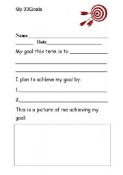 Printables Goal Setting Worksheet For Students english worksheets goal setting worksheet worksheet