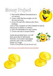 English Worksheet: A simple task to complete on Australian Currency