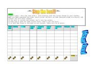 English Worksheets: Stop the bus!