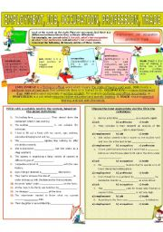 English Worksheet: COLLOCATION 56 - EMPLOYMENT, JOB, OCCUPATION, PROFESSION, TRADE