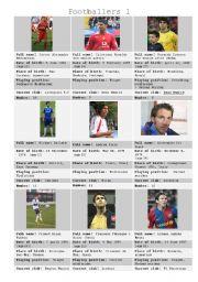 Footballers 1