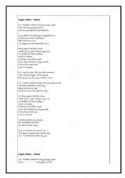 English worksheet: Brian Adams- Heaven