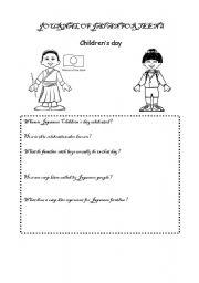 children s day worksheets. Black Bedroom Furniture Sets. Home Design Ideas