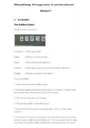 English Worksheets: Reading Comprehension Training
