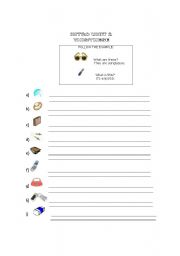 English Worksheets: THIS - THESE