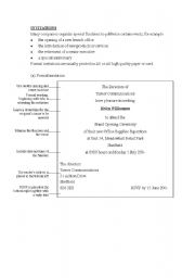 English Worksheet: Invitation Letters and Cards