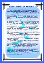 English Worksheet: Verb tenses revision 2