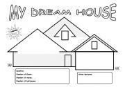 My Dream House worksheet by Emy Lee