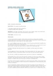 English Worksheets: DESCRIPTIONS writing