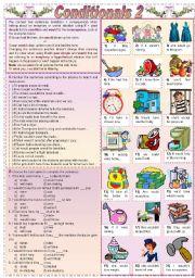 Conditionals 2 (Grammar guide + exercises)