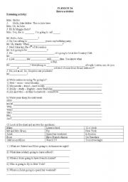 English Worksheets: actvities