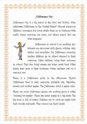 Halloween Stories english worksheets a scary halloween story English Worksheets Halloween Worksheets Page 85