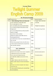 English Worksheet: 10 lessons about Twilight Movie!