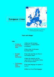 English Worksheet: European Union
