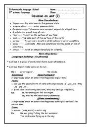 English Worksheets: unit 2 macmillan 5