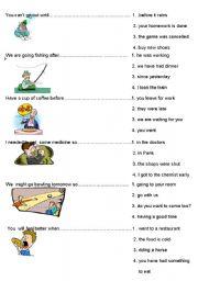 English Worksheet: Compound Sentences ( 2nd page)