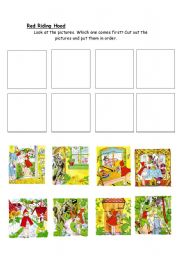 English Worksheets: Red Ridding Hood