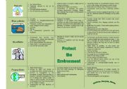 English Worksheets: ENVIRONMENTAL PROBLEMS (causes, effects, solutions) - 2/2