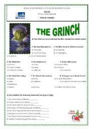 English Worksheets: The Grinch
