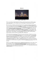 English Worksheets: Qatar