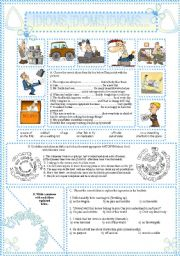 English Worksheets: IDIOMS,IDIOMS,IDIOMS...(15)