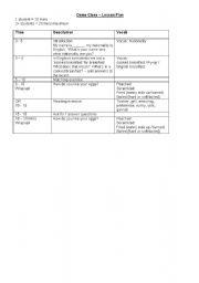 English Worksheet: Demo Lesson Plan - English Breakfast