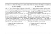 English Worksheets: Text with some exs