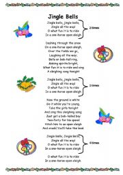 It is a picture of Handy Jingle Bells Lyrics Printable