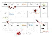 Irregular Verb Board Game 2/3