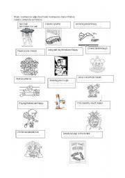 English Worksheets: It makes me laugh