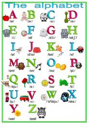The Alphabet Worksheets Teaching Verbs Worksheets English Worksheet The Alphabet