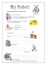 English worksheet: My Robot - Pre-intermediate