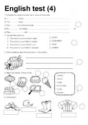 English Worksheets: English text 4