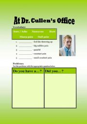 At Dr. Cullen´s Office