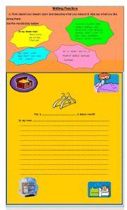 English worksheet: Writing practice