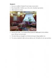 English Worksheet: role play (restaraunt+directions) 5 pages