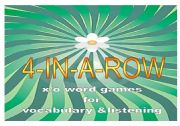 English Worksheet: 4-in-a-row WORD GAMES