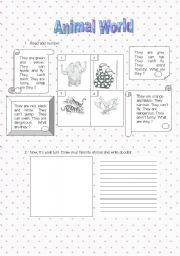 English Worksheet: Guided Writing - worksheet 1