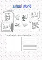 English Worksheets: Guided Writing - worksheet 1