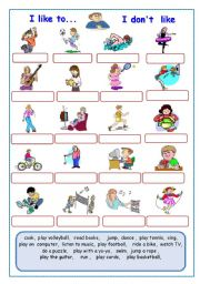 English Worksheets: Actions / Worksheet