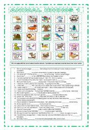 Animal Idioms 1