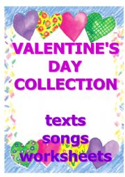 English Worksheet: Valentine´s Day Collection - various teaching materials