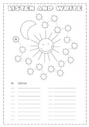English Worksheet: Numbers from 1 - 100
