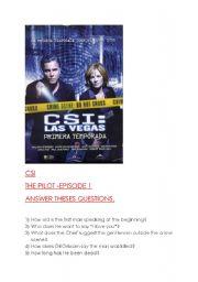CSI SEASON 1 EPISODE 1- THE PILOT