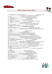 English Worksheets: whenever, whichever, wherever, however