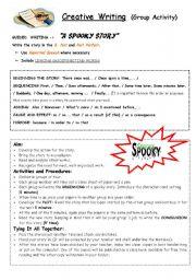 English Worksheets: Creative Writing